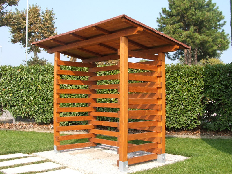 Casa moderna roma italy legnaia in legno for Casetta giardino fai da te