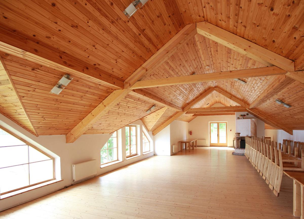 Solaio In Legno Lamellare Autoportante punto legno sandrigo, legno certificato, edilizia sostenibile